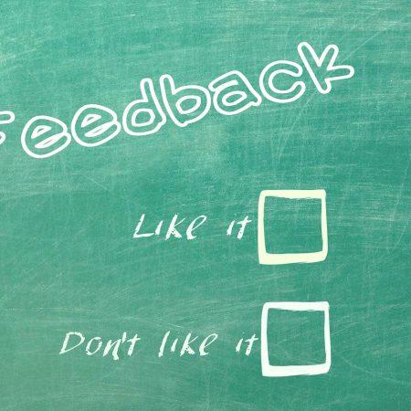 cuestionario para solicitar feedback